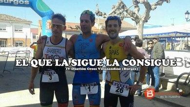 Photo of Javi Castro del Triatlón Benavente se lleva el IV Duatlón Cross Villasandino en un cerrado sprint