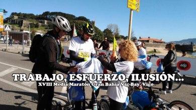 Photo of La Media Maratón Vig-Bay vió ganar a un gran Iván Bragado que terminó muy cansado