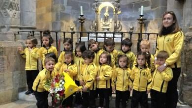 """Photo of GALERÍA: Visita de los alumnos de """"La Vega"""" a la patrona de Benavente"""