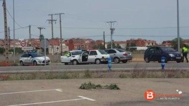 Photo of Accidente de tráfico en la N-525 en el cruce de Los Salados