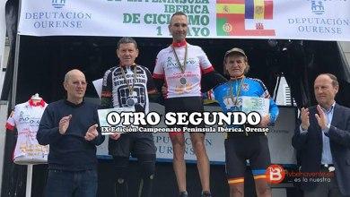 Photo of Fabián García segundo en el Campeonato Península Ibérica de ciclismo