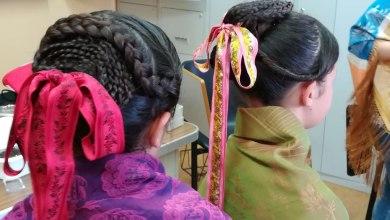 """Photo of """"Peinados de otro siglo"""" en el taller realizado por la A.C. Son de los Valles de Benavente"""