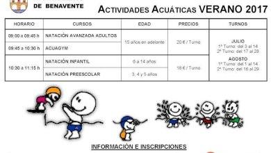 Photo of Actividades acuáticas en las Piscinas Municipales de Benavente