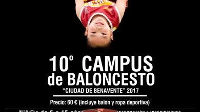 Photo of Abierta la inscripción del 10º Campus de Baloncesto Ciudad de Benavente