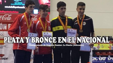 Photo of Dos medallas para el Quesos el Pastor en el nacional de taekwondo Junior