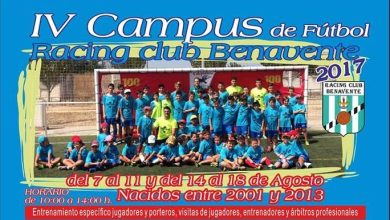 Photo of 4ª Edición del Campus Racing Club Benavente para este verano