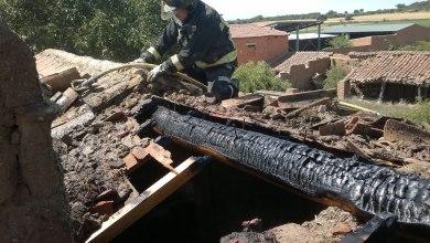 Photo of El tejado de una vivienda se incendia en Milles de la Polvorosa