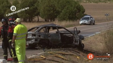 Photo of Fallece tras chocar con una furgoneta e incendiarse su coche en La Hiniesta