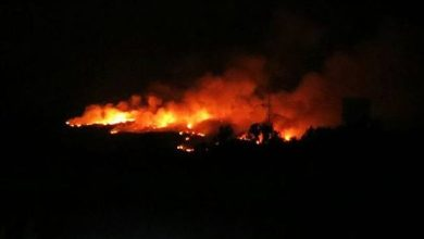 Photo of Un amplio dispositivo de profesionales lucha contra el fuego de Ribadelago