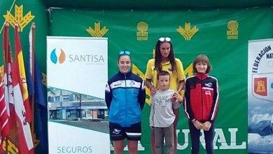 """Photo of Nasta Salvador  bronce en la travesía de natación """"Lago de Sanabria"""""""