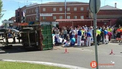 Photo of El conductor del tractor de Tordesillas da una tasa de 0,64 en alcohol
