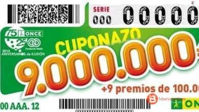 Photo of El cuponazo de la ONCE deja un premio de 250.000 euros en Sanabria