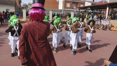 Photo of Carnaval con disfraces de cine en el CEIP Fernando II