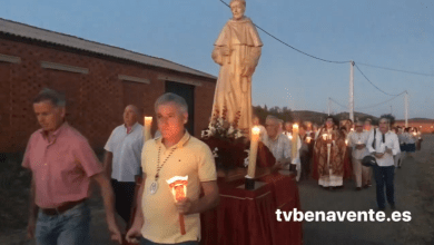 Photo of Rosario procesional en las fiestas en honor a San Lucas del Espíritu Santo