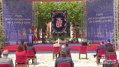 Photo of Firma del Pacto por la Recuperación Económica, el Empleo y la Cohesión Social en Castilla y León