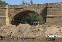 Photo of Obras en el puente medieval de Castrogonzalo