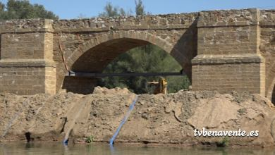 Photo of Obras en el puente medieval de Castrogonzalo