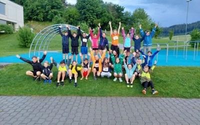 Abschluss der ersten Saisonhälfte am vereinsinternen UBS kids cup in Bolligen