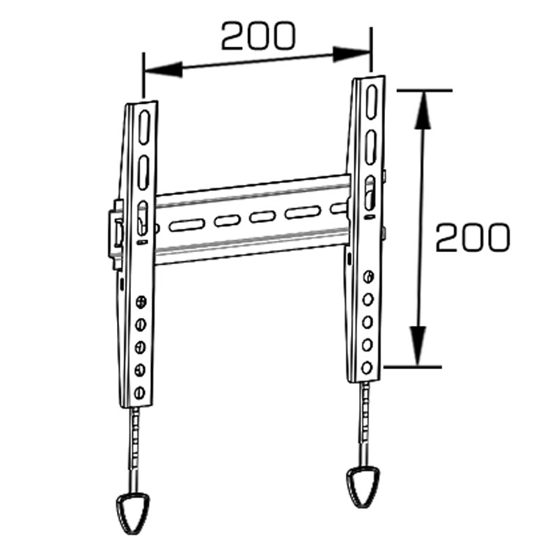 """Universal Flat Screen TV Wall Mount Fixed for 14""""-42"""