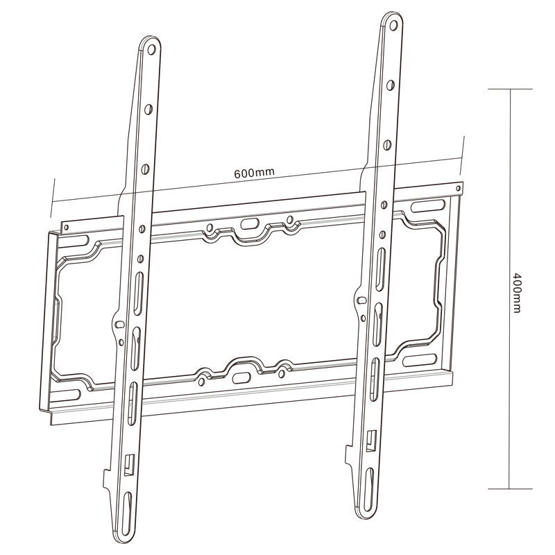 Slim Standard LED/LCD Universal Flat Panel TV Wall Mount