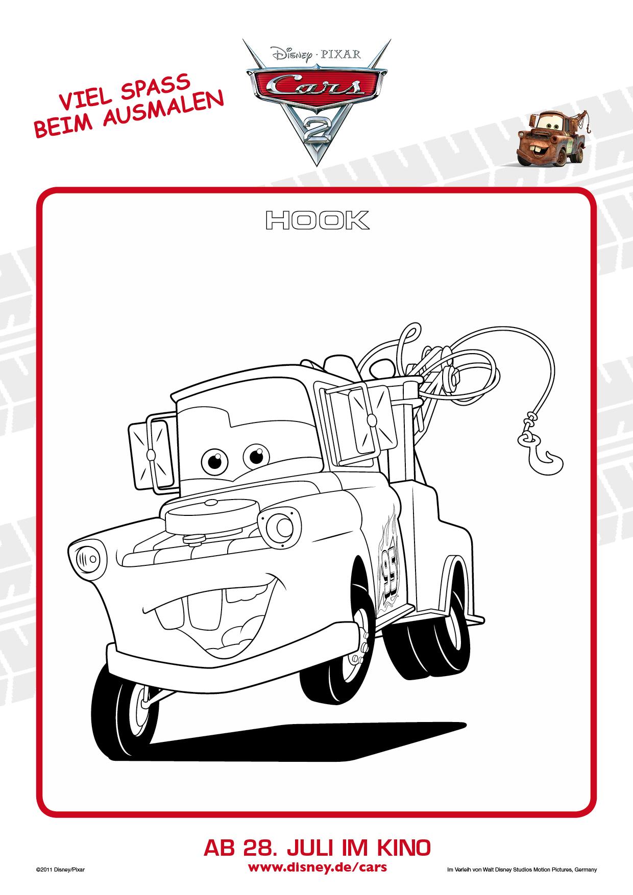 Cars im TV & Malvorlagen! Filmreihen Archiv TVButlerat