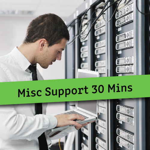 Misc Support 60 Mins