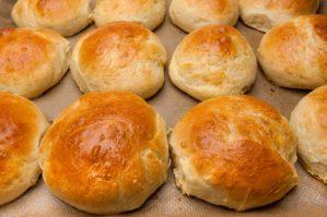 Receita da Carla, irmã da Catia: pão de mandioca maravilhoso