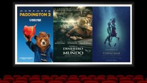 Filmes que estreiam esta semana (01 de fevereiro) no cinema com Davi Novaes