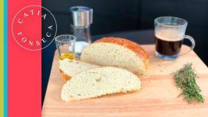 COMO FAZER: Pão de azeite de ervas