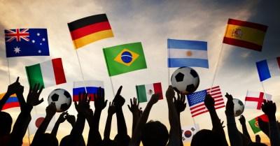 Países participantes da Copa do Mundo