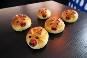 COMO FAZER: Pão de batata Porquinho
