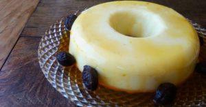 Receita da revista da Catia: Manjar de leite condensado com ameixa