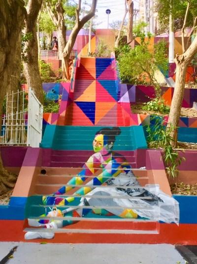 Tv Catia Fonseca Passeios em São Paulo no final de semana escadaria das bailarinas