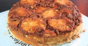 Torta de abacaxi sem glúten com Felipe Nonato