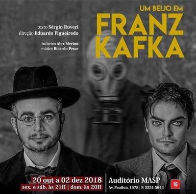 Tv Catia Fonseca Passeios em São Paulo no final de semana por Reinaldo Calazans Um Beijo em Franz Kafka
