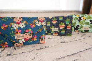 Como fazer porta óculos por Agnes Martins