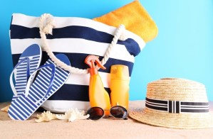 Acessórios para usar na praia por Sabrina Farias