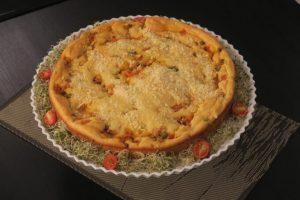 Torta de frango com milho por Bianca Folla