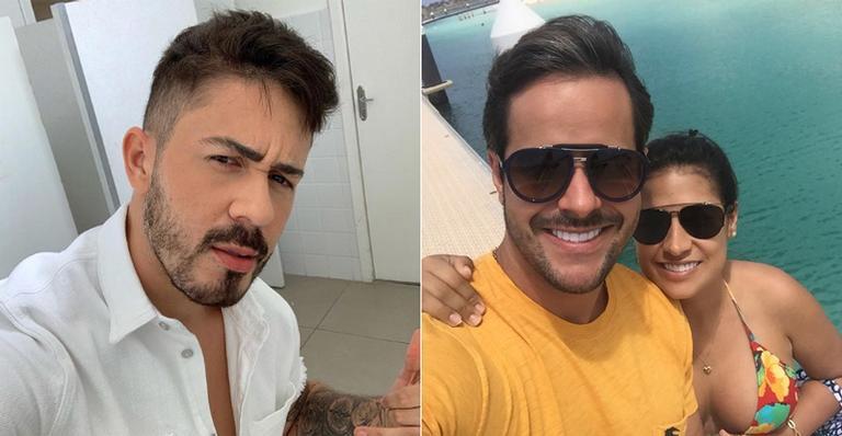Kaká Diniz se recusa a ser padrinho de casamento de Carlinhos Maia, é obrigado por Simone a tirar foto ao lado do comediante e motivo vem à tona