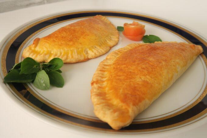 Pastel assado de camarão por Donizete e Meurym