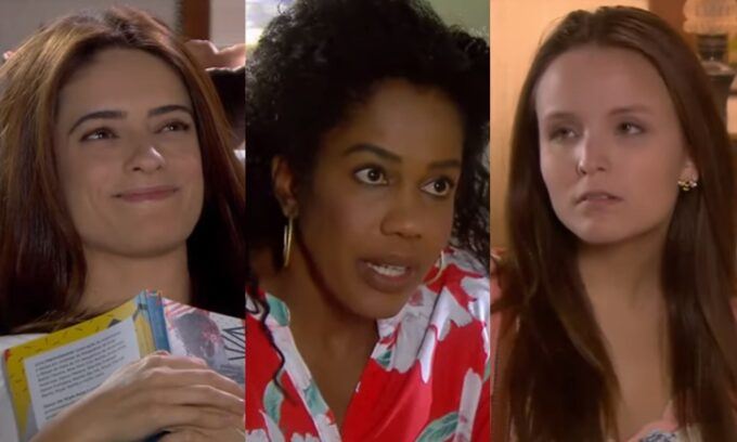 As Aventuras de Poliana: Débora provoca Luísa, Gleyce descobre trapaça de Arlete, e Mirela humilha seus pais