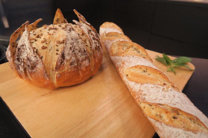 Baguete francesa por chef Edgar Rodrigues