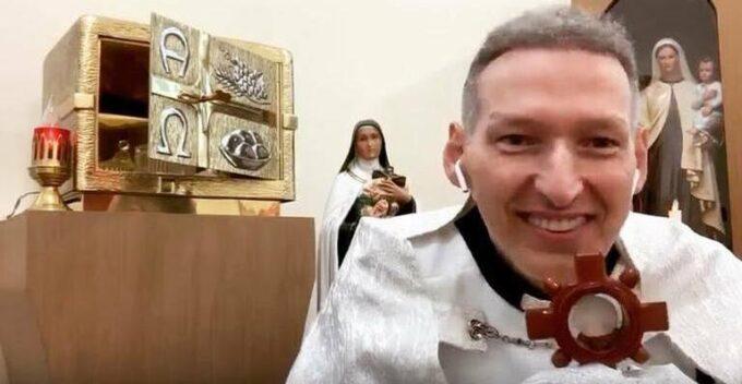 Padre Marcelo Rossi revela lesão após ser empurrado com agressividade e assume B.O