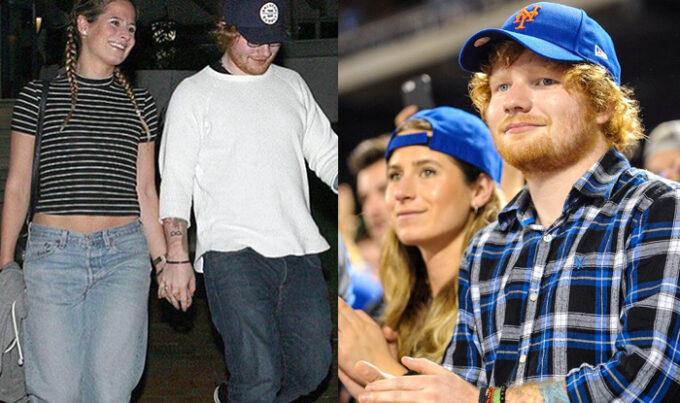 Ed Sheeran anuncia namoro com antiga namorada e leva fãs ao delírio