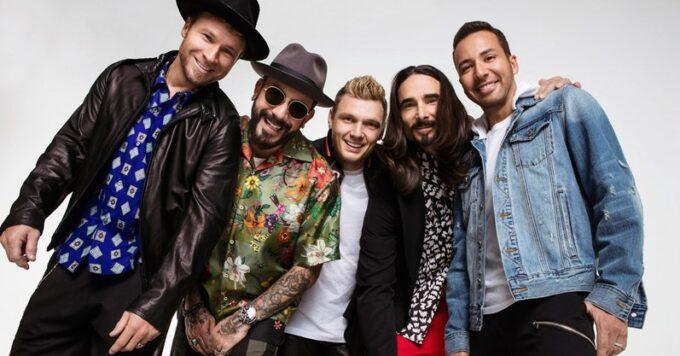 O grupo Backstreet Boys virá ao Brasil e notícia pega público de surpresa