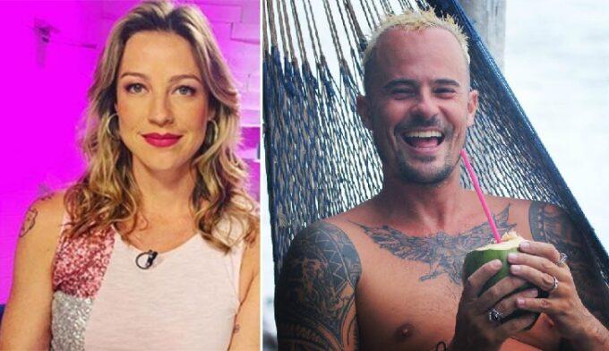 """Luana Piovani passa Pedro Scooby pra trás e revive amor arrebatador com Paulinho Vilhena: """"lindo reencontro"""""""