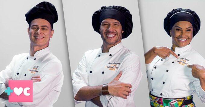 João Vitti, Nando Rodrigues e Solange Couto estão na final do Super Chef Celebridades do Mais Você