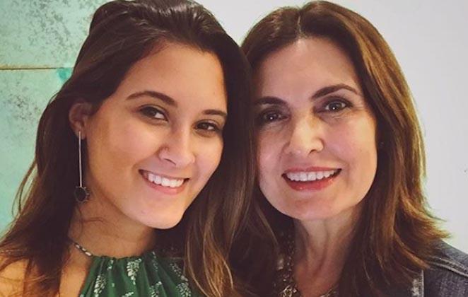 Fátima Bernardes, a filha Bia Bonemer e outras famosas aparecem em vídeo rebolando ao som de Anitta