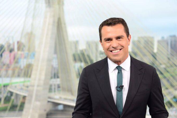 Rodrigo Bocardi interrompe Bom Dia São Paulo após espectador notar erro na transmissão