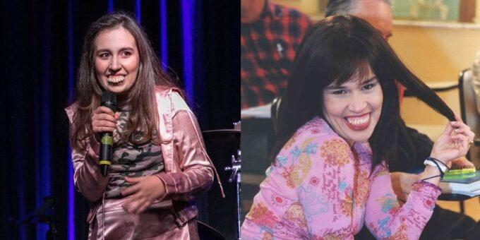 Claudia Rodrigues: filha da humorista assume seu personagem famoso: 'Beijar muuuito'